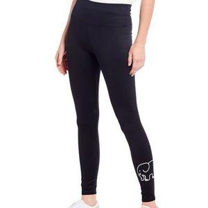 Ivory Ella Black Full Length High Waisted Leggings